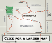 Thermopolis, Wyoming :: The Gateway to Yellowstone Country!