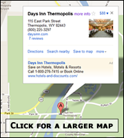 The Days Inn Hot Springs Convention Center Hotel :: We invite you to relax in the healing powers of the world's largest hot mineral spring piped directly to our spa.