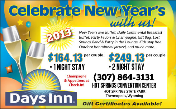New Years Eve Vacation Special, Wyoming, Thermopolis