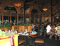 Safari Club Rrestaurant Dinner