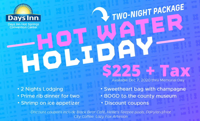 hotwater holiday vacation special thermopolis wy
